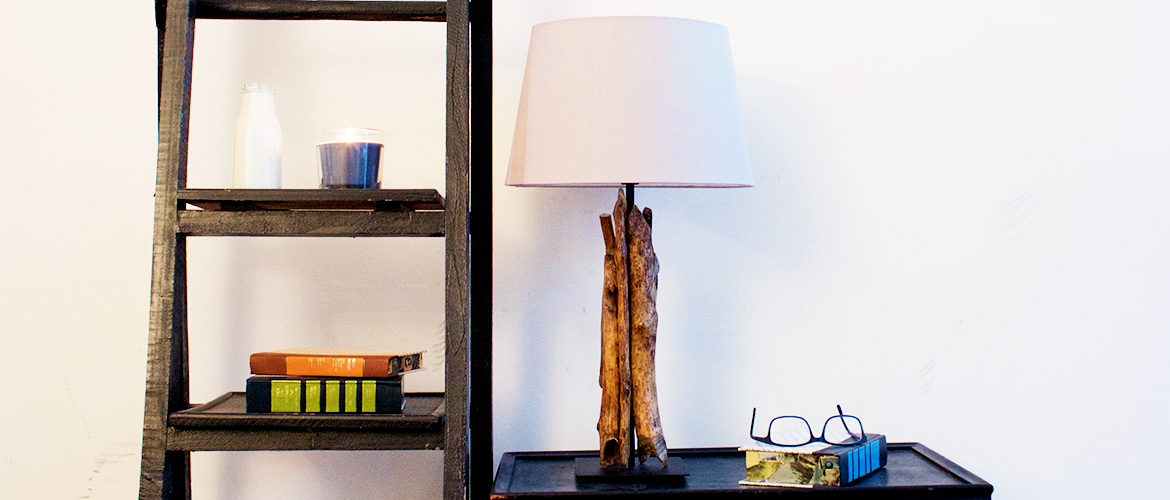 DIY Driftwood Lamp