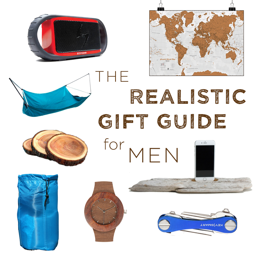 The Realistic Gift Guide for Men